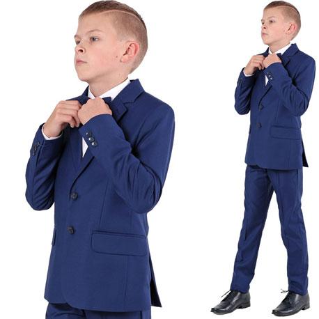 Garnitur chłopięcy komunijny garnitury chłopięce komunijne KOBALT
