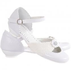 Buty komunijne dla dziewczynki MIKO OM612