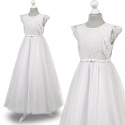 Sukienka komunijna Anastazja 51BI rozmiar 140