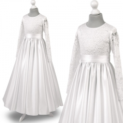 Sukienka komunijna Anna27SR rozmiar 140