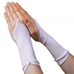 Rękawiczki komunijne na palec RKC48