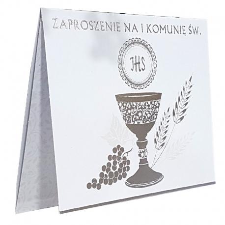 Zaproszenia komunijne op. 10 szt. ZAP39979
