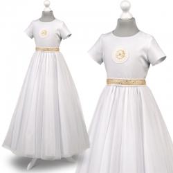 Sukienka komunijna Tosia25ZL rozmiar 146