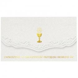 Zaproszenia komunijne 5szt. ZZ05K-12170-0070