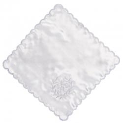 Biała chusteczka do Komunii Świętej CK06