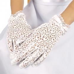 Rękawiczki komunijne do Pierwszej Komunii Świętej RK23