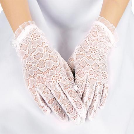 Rękawiczki komunijne do Pierwszej Komunii Świętej RK21