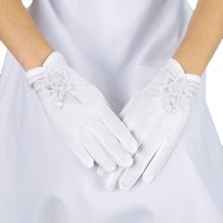 Rękawiczki komunijne do Pierwszej Komunii Świętej RK18