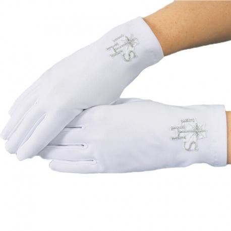 Rękawiczki komunijne do Pierwszej Komunii Świętej RK13