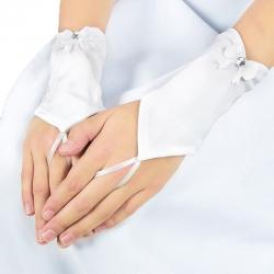 Rękawiczki komunijne do Pierwszej Komunii Świętej RK03