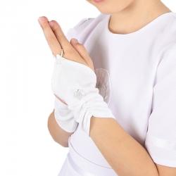 Rękawiczki komunijne do Pierwszej Komunii Świętej RK04