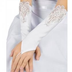 Rękawiczki komunijne do Pierwszej Komunii Świętej RK36