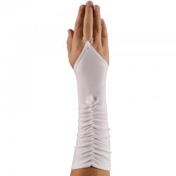 Rękawiczki komunijne długie na palca RK40