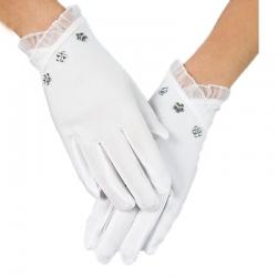 Rękawiczki komunijne pełne RK71