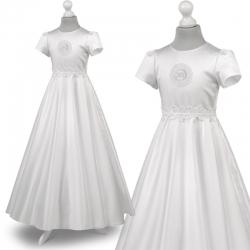 Sukienka komunijna alba Marta 53BI rozmiar 128