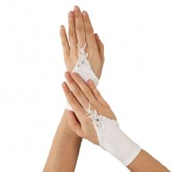 Rękawiczki komunijne do Pierwszej Komunii Świętej RKC65