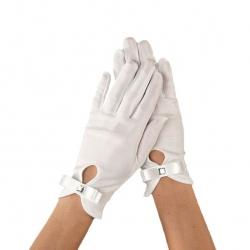 Rękawiczki komunijne do Pierwszej Komunii Świętej RKC66