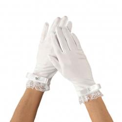 Rękawiczki komunijne do Pierwszej Komunii Świętej RKC67