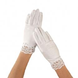 Rękawiczki komunijne do Pierwszej Komunii Świętej RKC68