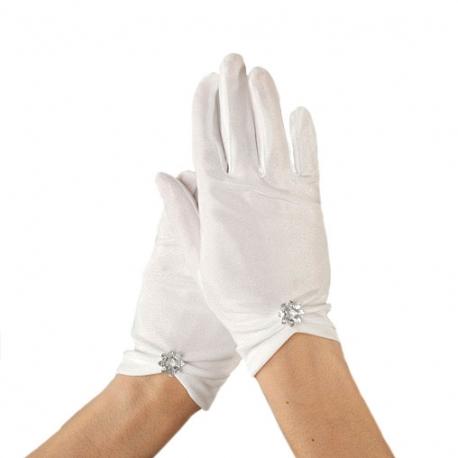 Rękawiczki komunijne do Pierwszej Komunii Świętej RKC71