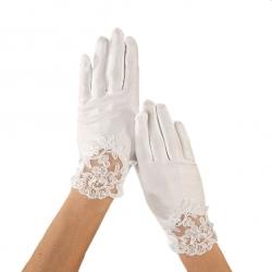 Rękawiczki komunijne do Pierwszej Komunii Świętej RKC72