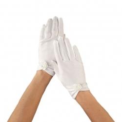 Rękawiczki komunijne do Pierwszej Komunii Świętej RKC73