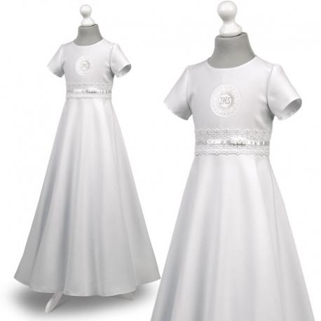 Sukienka komunijna Marta 29BI rozmiar 128