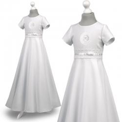 Sukienka komunijna Roksana 29BI rozmiar 140