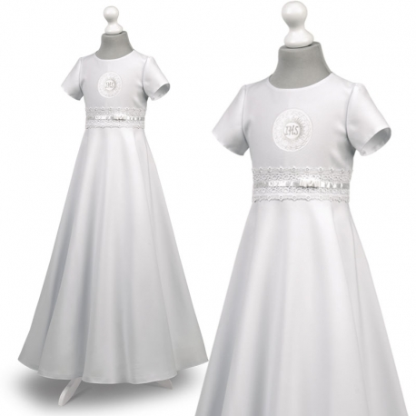 Sukienka komunijna Marta 29BI rozmiar 146