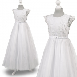Sukienka komunijna Anastazja 51BI rozmiar 146