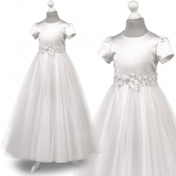 Sukienka komunijna Tosia72BI rozmiar 128