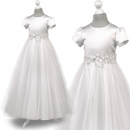 Sukienka komunijne alba sukienki komunijne alby model Tosia72BI