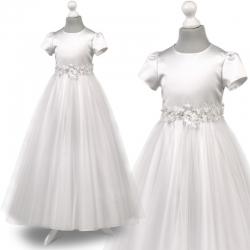 Sukienka komunijna Tosia72BI rozmiar 140