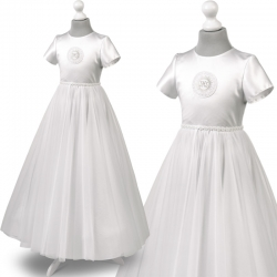 Sukienka komunijna Tosia60BI rozmiar 128