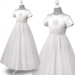 Sukienka komunijna Tosia60BI rozmiar 134