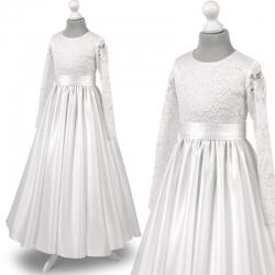 Sukienka komunijne alba sukienki komunijne alby model Anna27SR