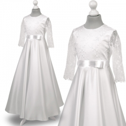 Sukienka komunijna Anna67BI rozmiar 128