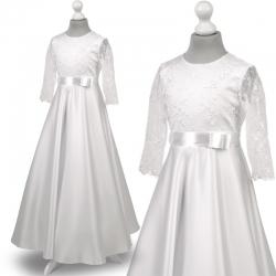 Sukienka komunijne alba sukienki komunijne alby model Anna67BI