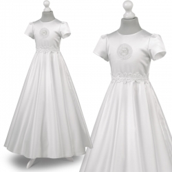 Sukienka komunijna alba Marta 53BI rozmiar 134