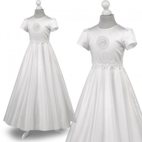 a4d6194b60 Nowe Sukienka komunijne alba sukienki komunijne alby model Marta 53BI
