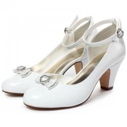 Buty komunijne dla dziewczynki OC01