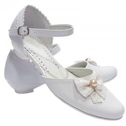 Buty komunijne dla dziewczynki OM718
