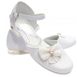 Buty komunijne dla dziewczynki OM675