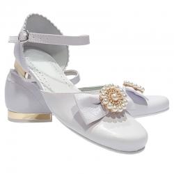 Buty komunijne dla dziewczynki MIKO OM676