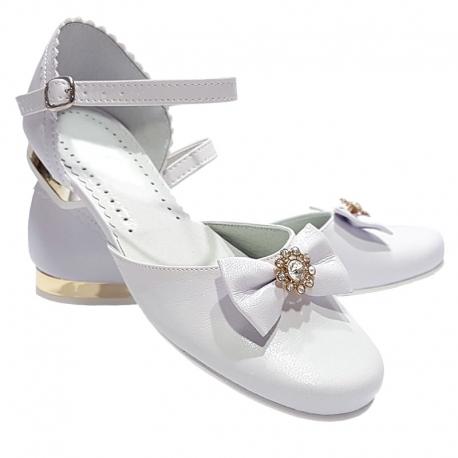 Buty komunijne dla dziewczynki OM674