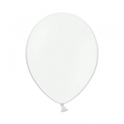 """Balony w kolorze białym rozmiar 12"""" 10szt."""