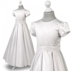 Sukienka komunijna Nelly 28BI rozmiar 146