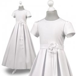 Sukienka komunijna Nelly 57BI rozmiar 140