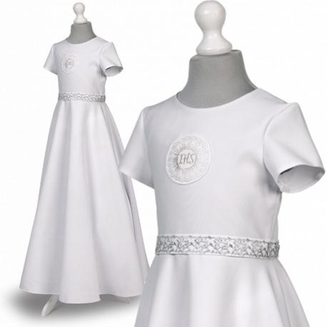 Sukienka komunijna alba Roksana 97SR