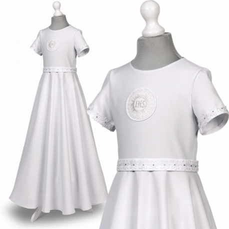 Sukienka komunijna alba Roksana 98SR